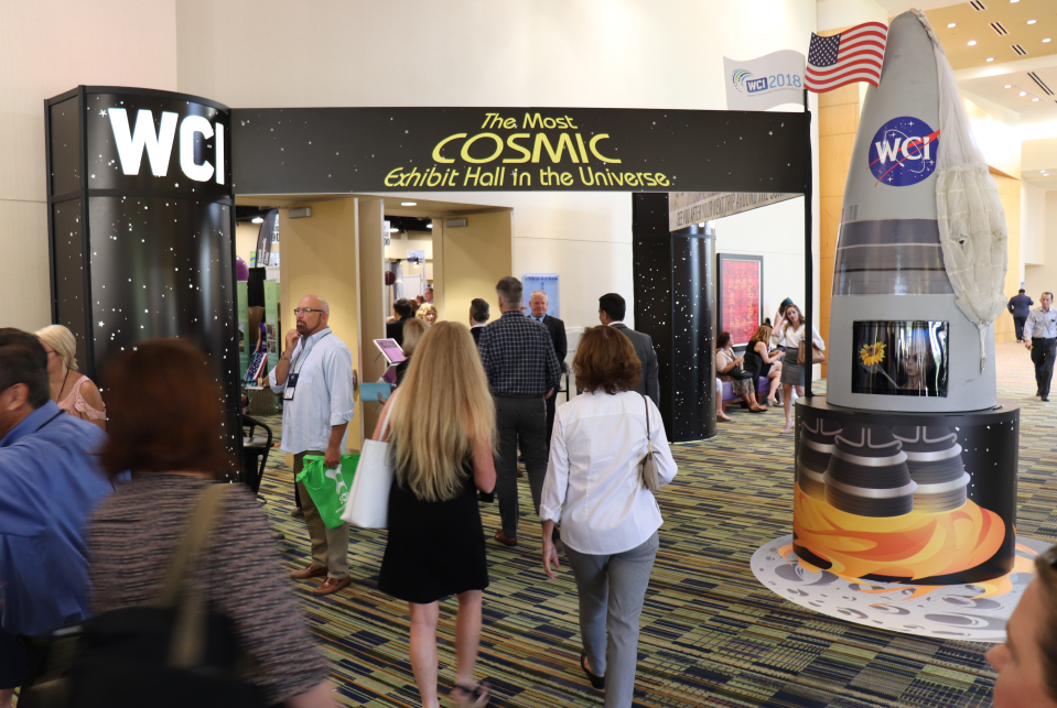 Cosmic Exhibit Hall US Tradeshows